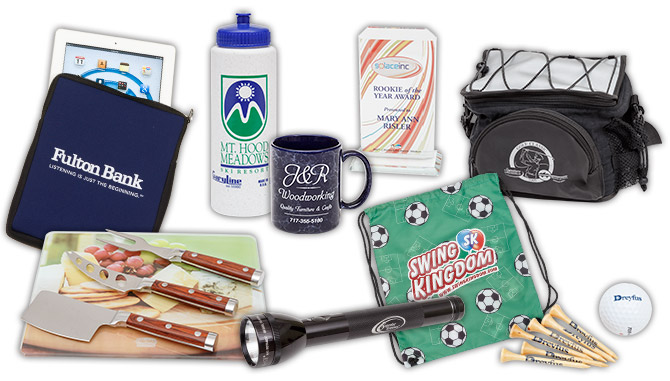 Assortment of Promotional Products